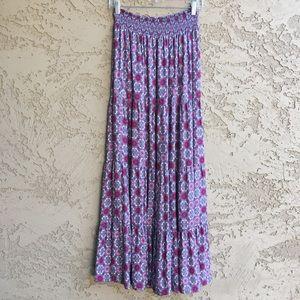 FOREVER 21 Cutest Maxi Long Ankle Length Skirt